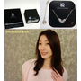 IR台灣純銀飾品-淑女風一定要擁有一條輕時尚的專屬幸運頸鍊