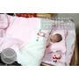 [Mia baby用品]一張可以多用途的好床!//PUKU//藍色企鵝~森林好朋友多功能嬰兒床&七件式寢具組!!!