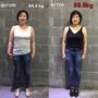 [中醫減重案例分享]:鐘雯~新式無痛埋線減重,甩除粗壯上半身同時減去5.6公斤
