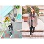 【穿搭】 Winean 薇妮安 日式女鞋 手工訂製 氣質輕便外出低跟鞋(岩灰色)