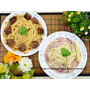 【團購美食】聚一聚親子雜貨店 冷凍紅白醬義大利麵 簡單烹調在家也可享受餐廳級的美味