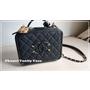 【開箱】Chanel vanity case 21cm 復古小化妝包 (中款)