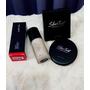 【❤美妝】韓國LAPCOS 『完美親膚霧感粉底液』+『拍拍超吸油蜜粉撲』親膚細緻粉體讓妝感更服貼