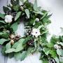 抽獎|手綁諾貝松聖誕花圈|花藝教室體課|Noble Fir christmas wreath