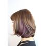 【VIF Hair Salon/秋冬髮色/短髮內彎燙髮造型/天母/士林特優髮廊推薦/指定Ivan設計師享85折】新髮色+新髮型GET!讓佩雯姐心情愉悅的方法就是來VIF變髮喔~