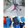 《穿搭》運動也能穿出時尚感♥VOUX 機能緊身褲 女Jungle緊身褲-中藍♥立體漸層動物紋印花 個性機能的百搭運動單品!
