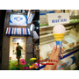 日本   沖繩Okinawa 國際通 Blue Seal 冰淇淋 來沖繩吃不同口味PABLO 紅芋口味 限定版