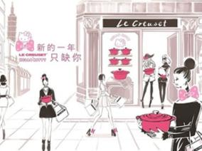 Le Creuset X Hello Kitty 亞洲限量系列,2018願望清單就差這一款 !