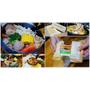 台中北屯』金福氣南洋食堂║食尚玩家推薦,懷舊復古風、特色南洋風味餐、彩虹起司吐司超邪惡
