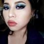 【眼妝】Party Makeup-藍色煙燻妝
