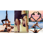 雙人瑜珈入門4招 在家運動也能甜蜜增感情!
