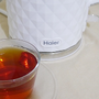 【家電】煮水也可以很時尚 Haier海爾 鑽紋雙層防燙快煮壺1.7L HB-3133BW