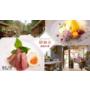 《食記|台北士林》隱密在陽明山裡的「 絹絲谷SPA休閒會館 創意料理」。在大自然的用餐環境中,享用最自然的食材 電影血觀音場景之一  泡湯 SPA 美食❤ 黑眼圈公主 ❤