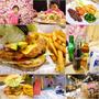 JJ 美式漢堡 burgers▋宜蘭羅東~墨西哥牛肉堡風味獨特、超大面花牆好吸睛,還有親子空間超便利!!