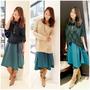 【穿搭時尚】冬天就想要這樣一件裙子!簡單複製日系穿搭 ♡ 日本海外購物好簡單~日本樂天不規則長裙