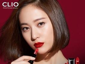 CLIO 珂莉奧 ~ Krystal 鄭秀晶代言高跟鞋緞面潤澤唇膏絕美亮相 !