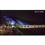 。帶著長輩去旅行。一年一度的京都嵐山花燈路。