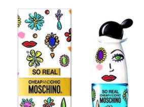莫斯奇諾SO REAL奧莉薇女性淡香水,輕輕溫柔你的心