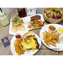 【東區早午餐】At ‧ First Brunch緣來(忠孝店) 木碗沙拉/漢堡/義大利麵/燉飯/歐姆雷