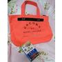 20100513螢光橘的帆布包入手~~