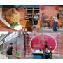 台中|| 沙鹿區 IG熱門打卡景點 一起穿越時空回到舊時光 美仁里彩繪村 跟著復古彩繪腳步走進台灣的故事