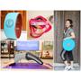 Fun Sport yoga 美一圈瑜珈輪 & 立肌靈- 環節式拉筋繩 。一起來拉筋、瑜珈伸展做運動 享受健康人生❤ 黑眼圈公主 ❤