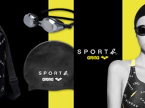 SPORT b. X 法國游泳品牌arena 首度聯名 法式極簡泳衣超吸睛