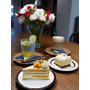 Reverse cake&coffee▋宜蘭羅東咖啡館/下午茶~簡約清爽的咖啡廳、愛文芒果乳酪千層蛋糕精緻迷人