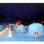 かまくら村 雪屋體驗▋長野.飯山~白色雪屋像是個大福! 信濃平雪上車體驗+像是愛斯基摩人一樣在雪屋晚餐