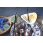 山中煎餅本舖▋福島縣喜多方市~古老的土藏建築中(有古老柑仔店的味道)體驗有趣的炭火手烤仙貝