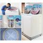 夏普無孔槽變頻洗衣機~無孔槽細菌不會滋生,連清理洗衣機的技師都推薦