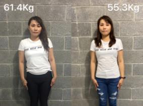 4個月改善難看的下半身線條!NICOLE中醫減重6公斤案例分享