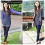 試穿【aLovin' 婭薇恩】 180D韓風縮腰顯瘦糖果褲 :甜美像糖果,顯瘦像名模