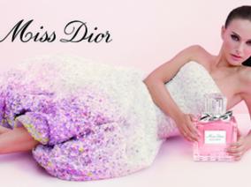Miss Dior迪奧淡香水 奧斯卡影后娜塔莉波曼 再度演繹Miss Dior愛的香水