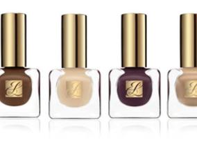Estee Lauder雅詩蘭黛純色晶灩指甲油,具有最佳美指效果的法式裸色系列