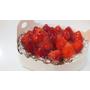橘村屋。多層次口感的法式草莓派。讓人沉浸在迷人的草莓香之中