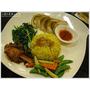 『台中。南屯區』異國蔬食料理─熱浪島南洋蔬食茶堂(1.2訪)