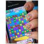 [指彩] 誰的糖果遺落在指尖 -  Candy Crush 指甲彩繪(含步驟)
