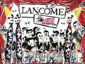 LANCOME蘭蔻 伸展台系列 經典眼妝換上LANVIN設計總監Alber Elbaz訂製外衣