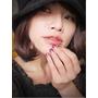 【指彩】漸層紫色華麗浪漫系光療指甲~喜歡♫