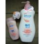 嬌生美體主張~24小時水感沐浴乳、乳液