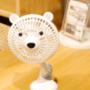 讓你走到哪,涼到哪的 Momonga.Latte日本夾式電風扇,可愛造型也能給小寶貝清涼一夏 育兒小物 生活品 ❤ 黑眼圈公主 ❤