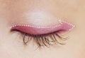 教學可愛迷人的小桃紅眼妝