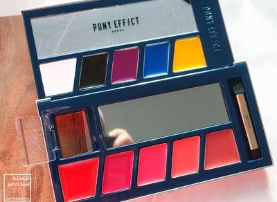 彩妝 | 打造自己想要的唇色 Pony Effect 唇膏調色盤