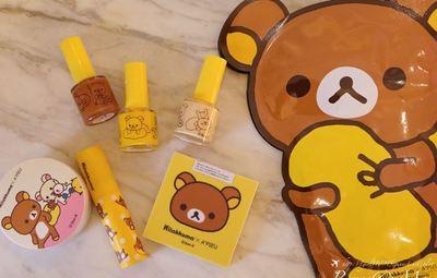 |彩妝|小三美日韓國Apieu拉拉熊來襲,超可愛的彩妝品開箱!用拉拉熊畫出乾燥玫瑰色系妝容~❤️